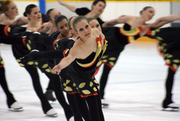 NEXXICE skating in Chatham in 2011
