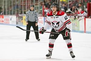Brandon Montour of the USHL's Waterloo Black Hawks