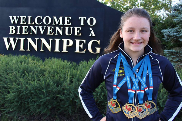 Madison Broad - Canadian Age-Group Swimming Championships