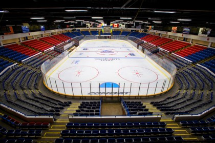 Perani Arena in Flint, Michigan, will be renovated, and is hoping to attract a USHL team - Photo from ArenaDigest.com
