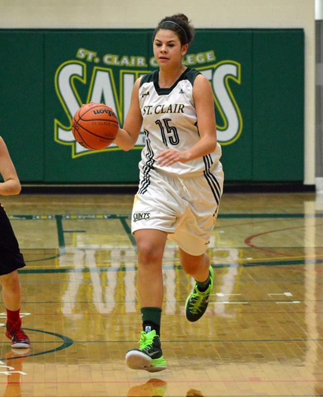 Torrie Handsor - St. Clair Basketball