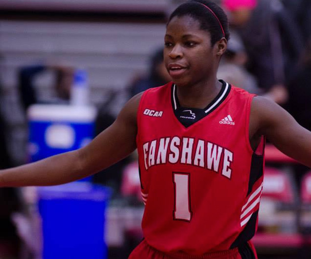 Anique Daley basketball