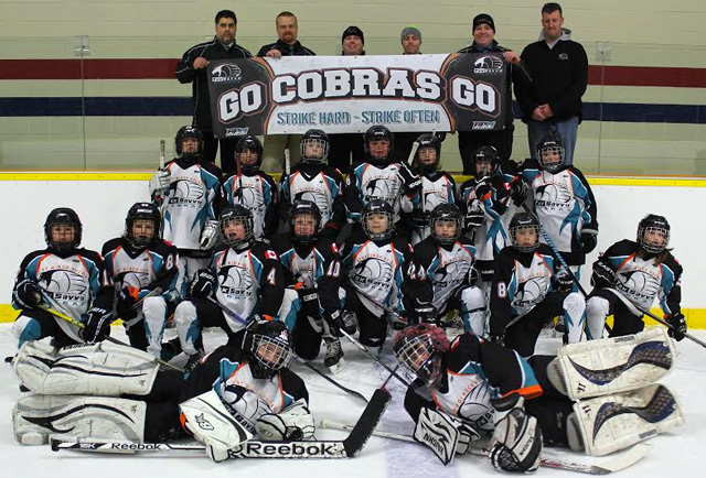 Kent Cobras Minor Atom AA OMHA