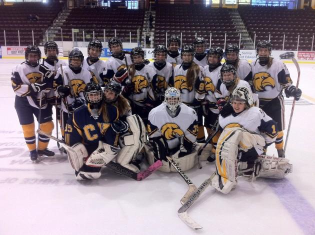 CKSS girls hockey