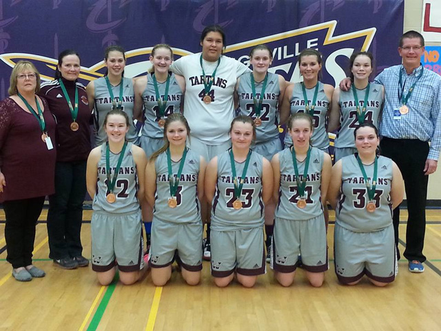 Wallaceburg Tartans OFSAA basketball