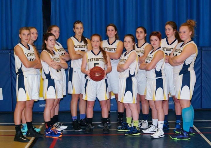 The Pain Court Patriotes Sr Girls basketball team are heading to OFSAA