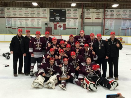 The Dresden Midget Rep hockey team ended a 29-year-drought when they won the OMHA championship this weekend.