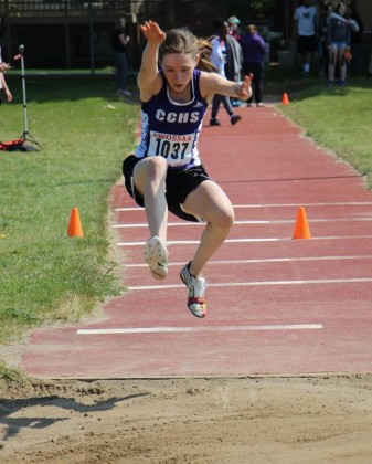 Carolyn Prins SWOSSAA track and field