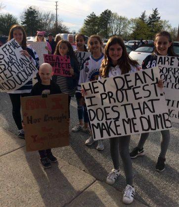 WMHA protesters