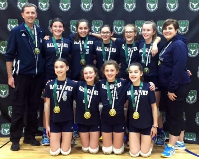 Chatham Ballhawks girls volleyball
