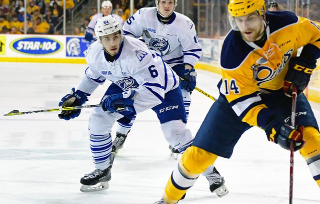 Brendan Harrogate OHL Images