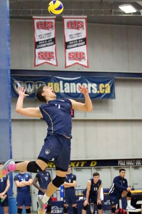Pierce Johnson Volleyball