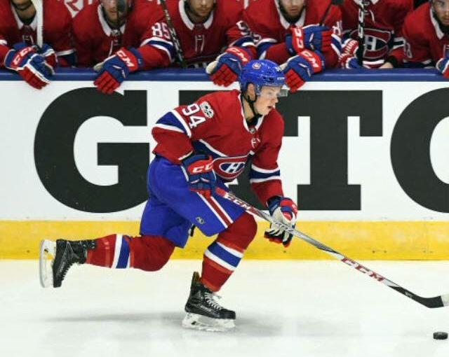 James McEwan Montreal Canadiens