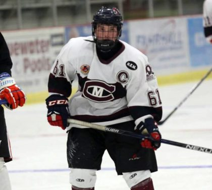 Thomas Michaud hockey