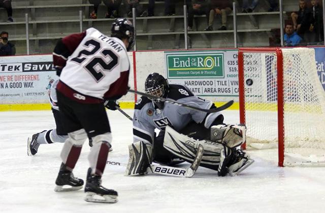 Bryce Yetman hockey