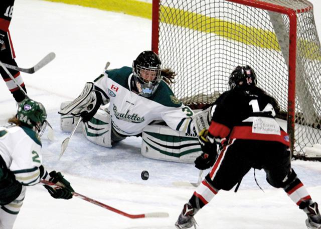 Jessie McPherson hockey