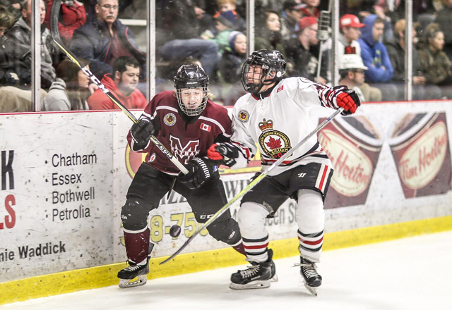 Dylan Schives Chatham Maroons