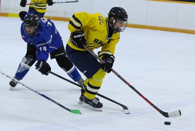 Payton Sabourin hockey