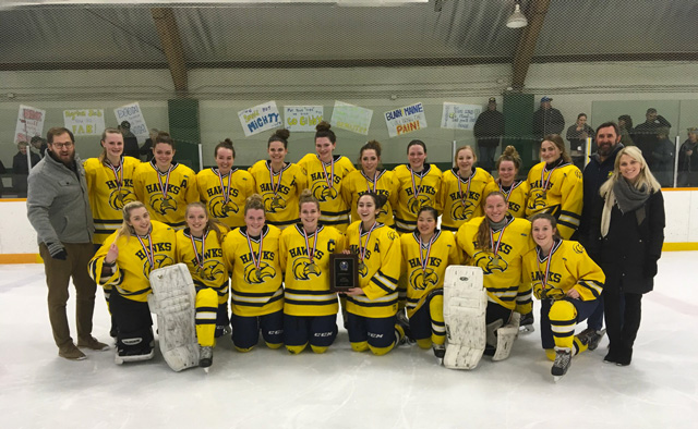 CKSS girls hockey SWOSSAA champions