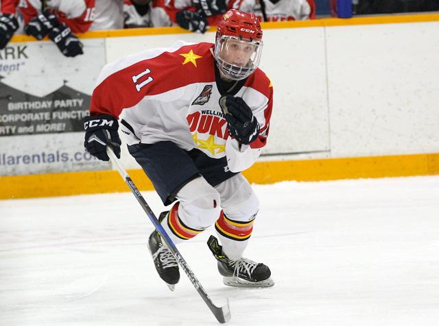 Teddy McGeen hockey