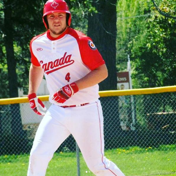 Brady Hogg softball