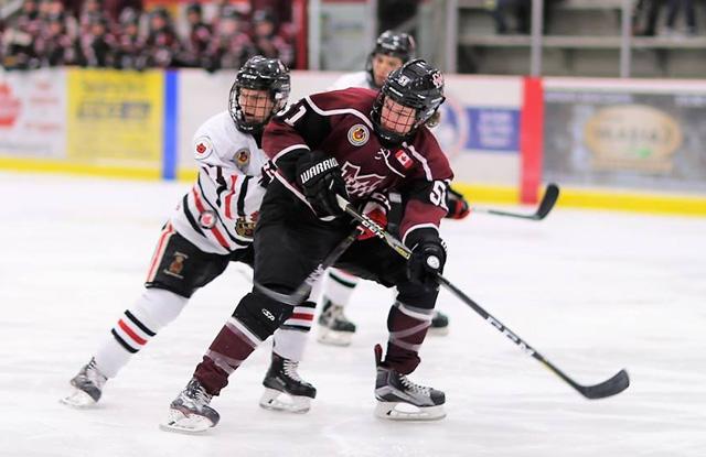 Grant Spence hockey