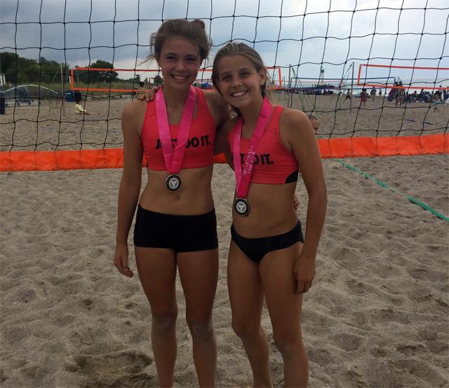 Ontario Beach Volleyball - Teya Meredith and Kenzie Lahey