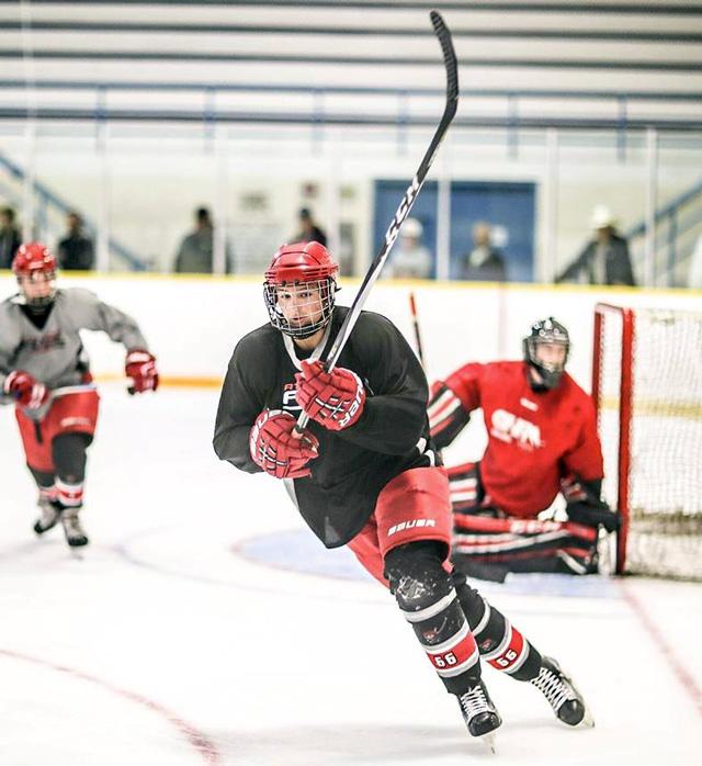 Darby Lemieux Chatham hockey