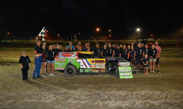 Marshall Hereygers racing