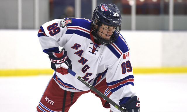 Grant Spence OJHL Hockey