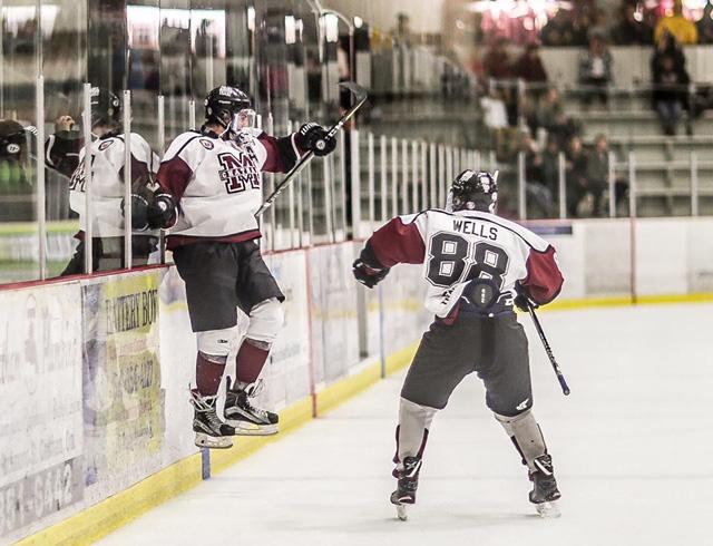 Dakota Bohn hockey