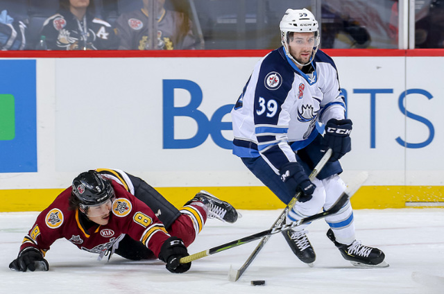 Winnipeg Jets Re Sign Seth Griffith To 700 000 Contract