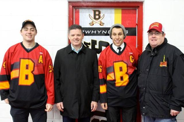 Blenheim Blades jerseys