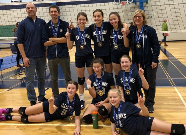 Chatham Ballhawks volleyball