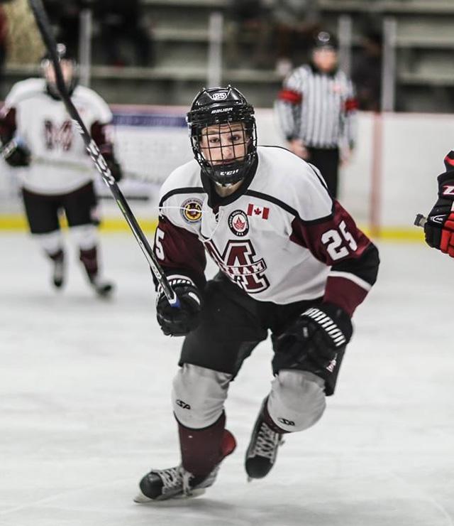 Darby Lemieux hockey