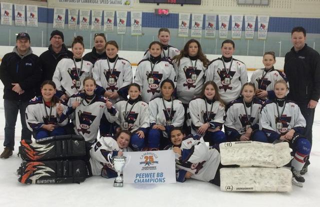 Chatham Outlaws girls hockey