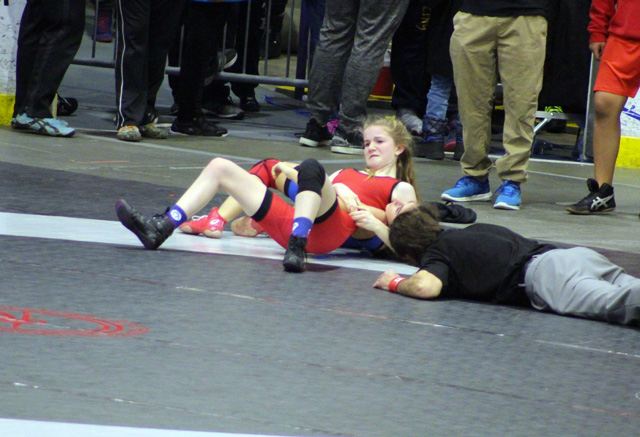 Kayla Smith Wrestling