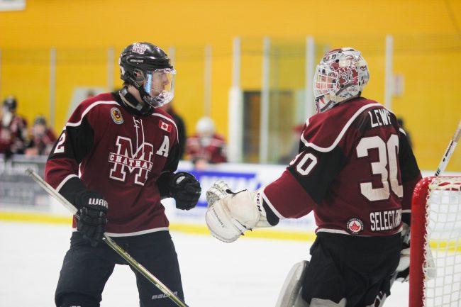 Tristan Lewis hockey