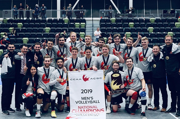 Fanshawe Falcons volleyball