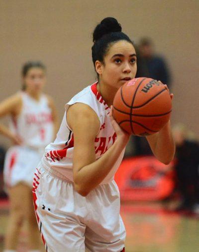 Jessica Jordan basketball