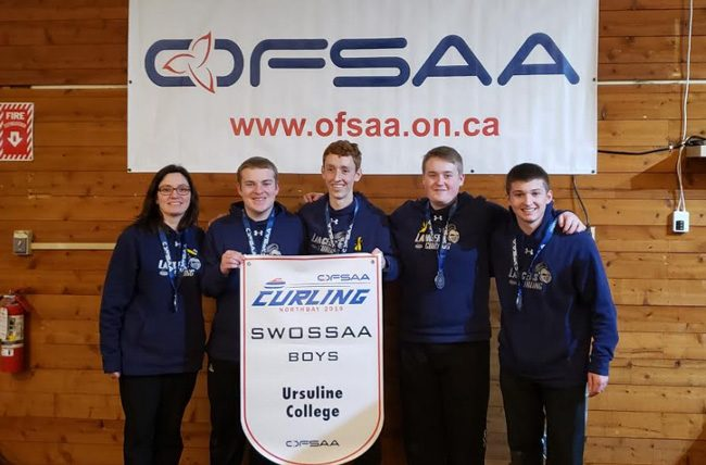 UCC Lancers OFSAA Curling