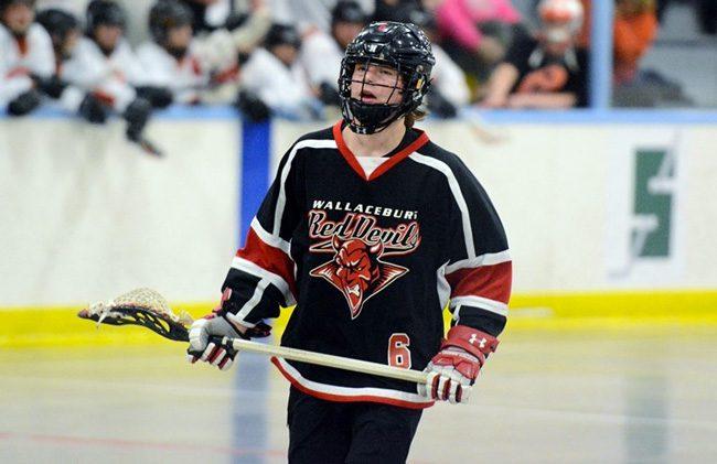 Riley Roe lacrosse