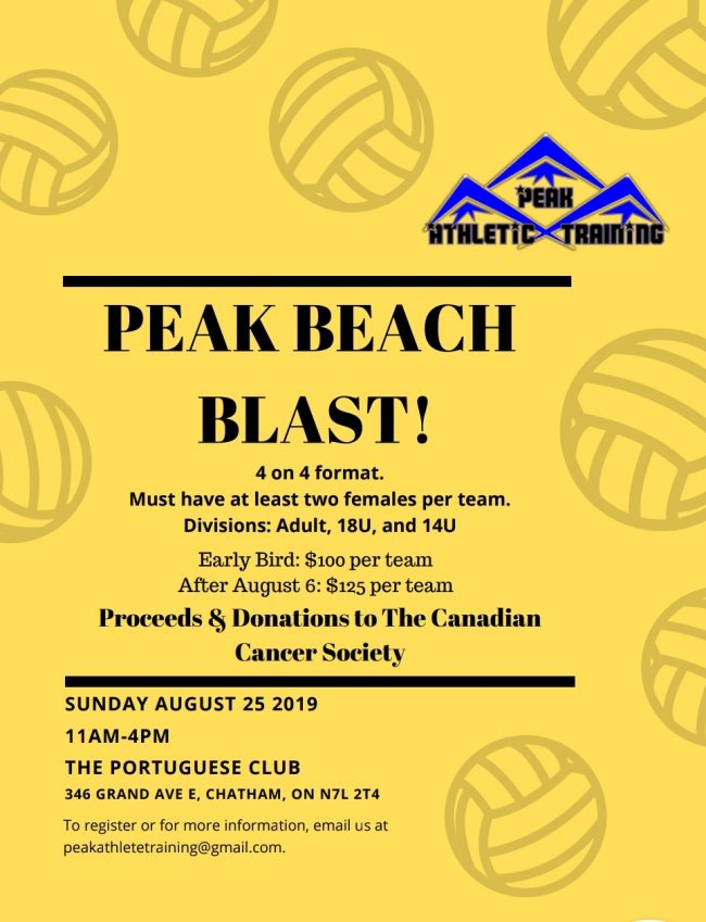 Peak Beach Bash