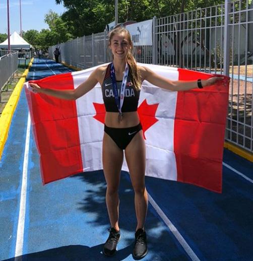 Emma Pegg 800m Canada