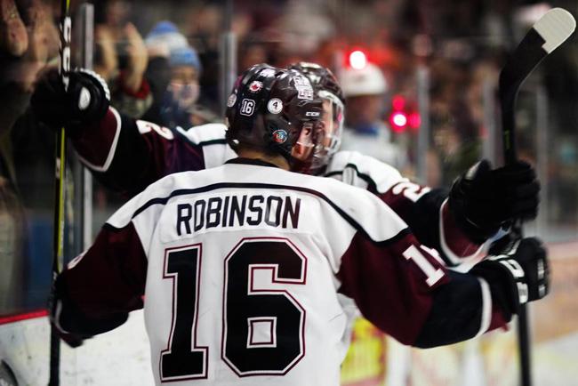 Griffin Robinson hockey