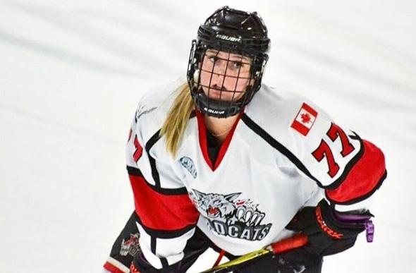 Kirsten Horney hockey