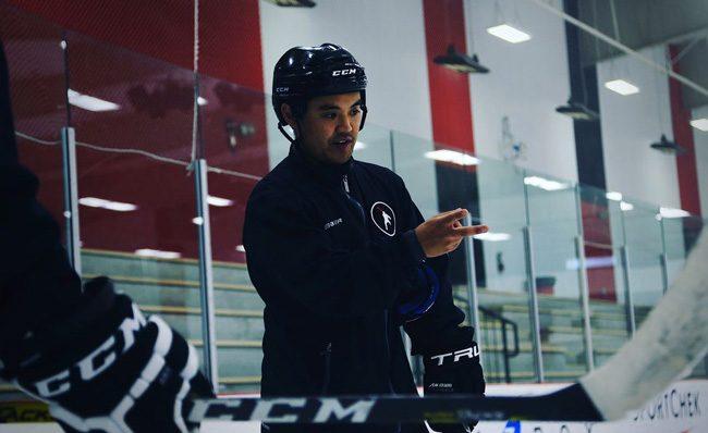 Kyle Nishizaki skating