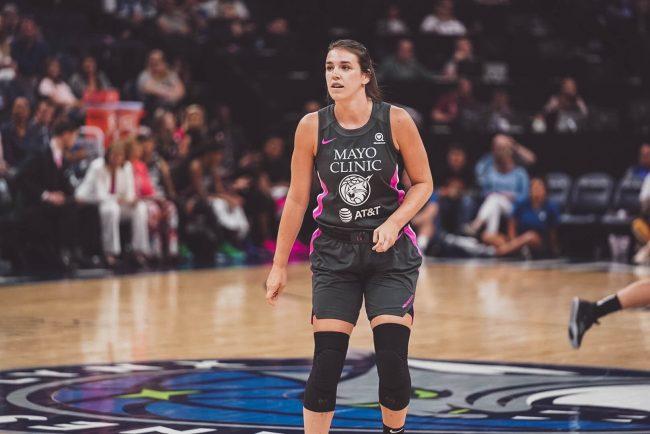 Bridget Carleton Minnesota Lynx