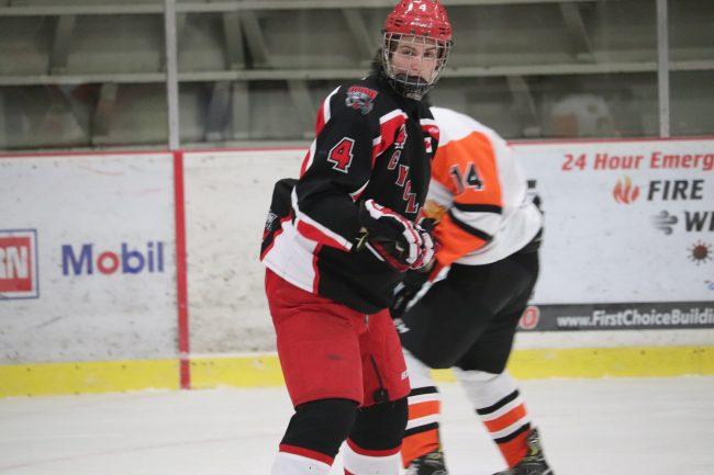 Carson Noble hockey