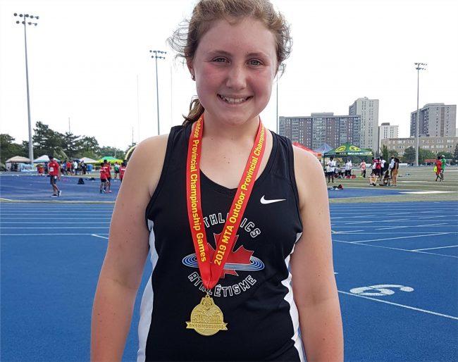 Emma Negri Track and field